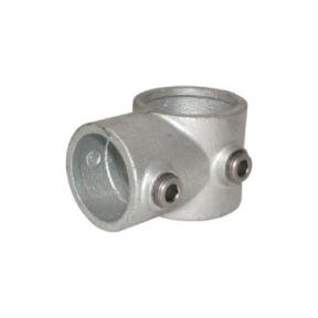 A02-8-101-D - Kort T-stuk (type A02) Ø 48,3 mm