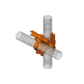 spie-kruisstuk-tv02 - Kruisstuk met vaste spie 90° 48,3 mm (type TV02)