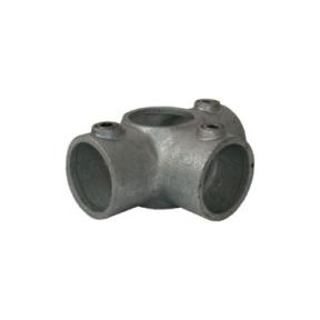 A24-5-176-A - Lang Open T-stuk (type A24) Ø 26,9 mm