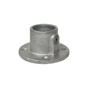 A10-7-131-C - Ronde Voetplaat (type A10) Ø 42,4 mm