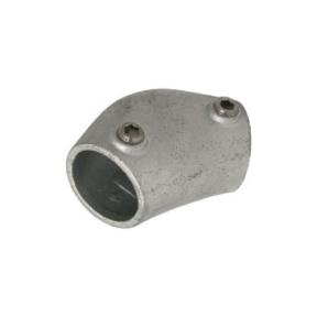 A07-6-124-B - Variabel Hoekstuk 105-165° (type A07) Ø 33,7 mm