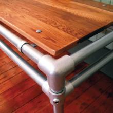 Steigerbuis tafel